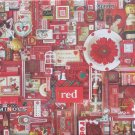 Cobble Hill RED 1000 pc Jigsaw Puzzle Shelley Davies