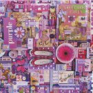 Cobble Hill PURPLE 1000 pc Jigsaw Puzzle Shelley Davies