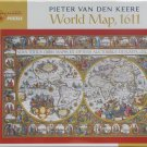 Pomegranate WORLD MAP 1611 1000 pc Jigsaw Puzzle Pieter Van Den Keere