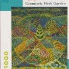 Pomegranate GEOMETRIC HERB GARDEN 1000 pc Jigsaw Puzzle Roslind Wise