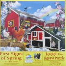 SunsOut Lori Schory FIRST SIGNS OF SPRING 1000 pc Jigsaw Puzzle