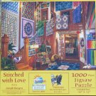 SunsOut STITCHED WITH LOVE 1000 pc Jigsaw Puzzle Joseph Burgess Quilts