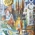 Educa GAUDI COLLAGE 1000 pc Miniature Jigsaw Puzzle