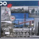 Trefl SAN FRANCISCO COLLAGE 1500 pc Jigsaw Puzzle