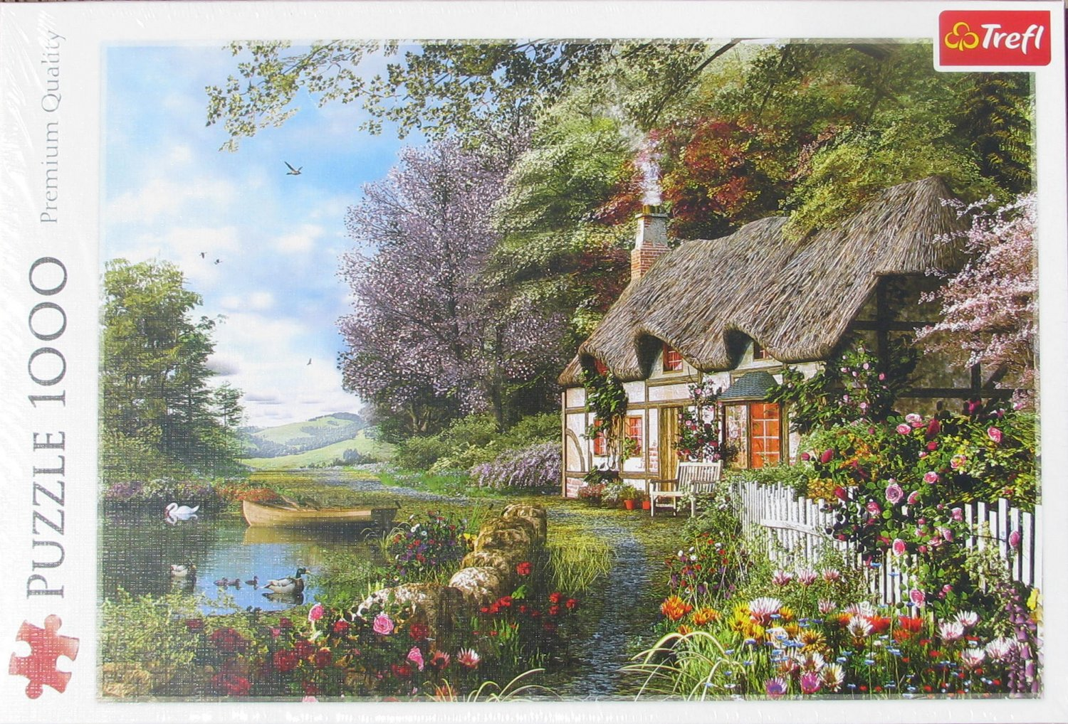 Trefl CHARMING NOOK 1000 pc Jigsaw Puzzle