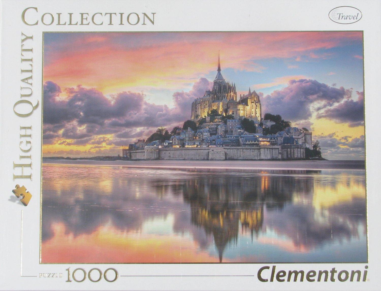 Clemontoni MONT SAINT MICHEL 1000 pc Jigsaw Puzzle