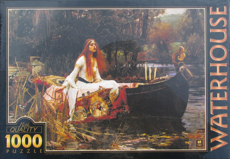 DToys John William Waterhouse THE LADY OF SHALOTT 1000 pc Jigsaw Puzzle