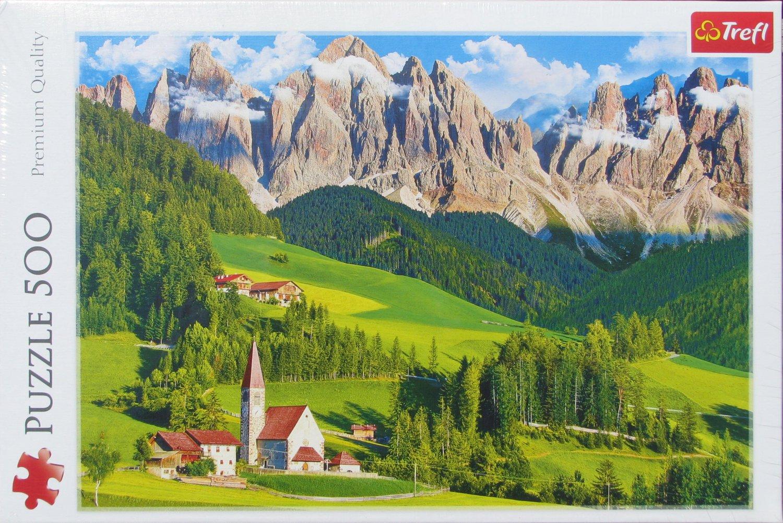 Trefl DOLOMITES ITALY 500 pc Jigsaw Puzzle