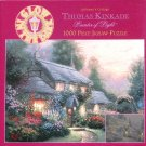 Thomas Kinkade JULIANNE'S COTTAGE 1000 pc Used Jigsaw Puzzle