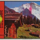 Built-Rite SWITZERLAND JUNGFRAU Used 700 pc Vtg Jigsaw Puzzle Warren Paper 7500