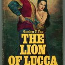 LION OF LUCCA Gardner F Fox First Printing Avon V2150