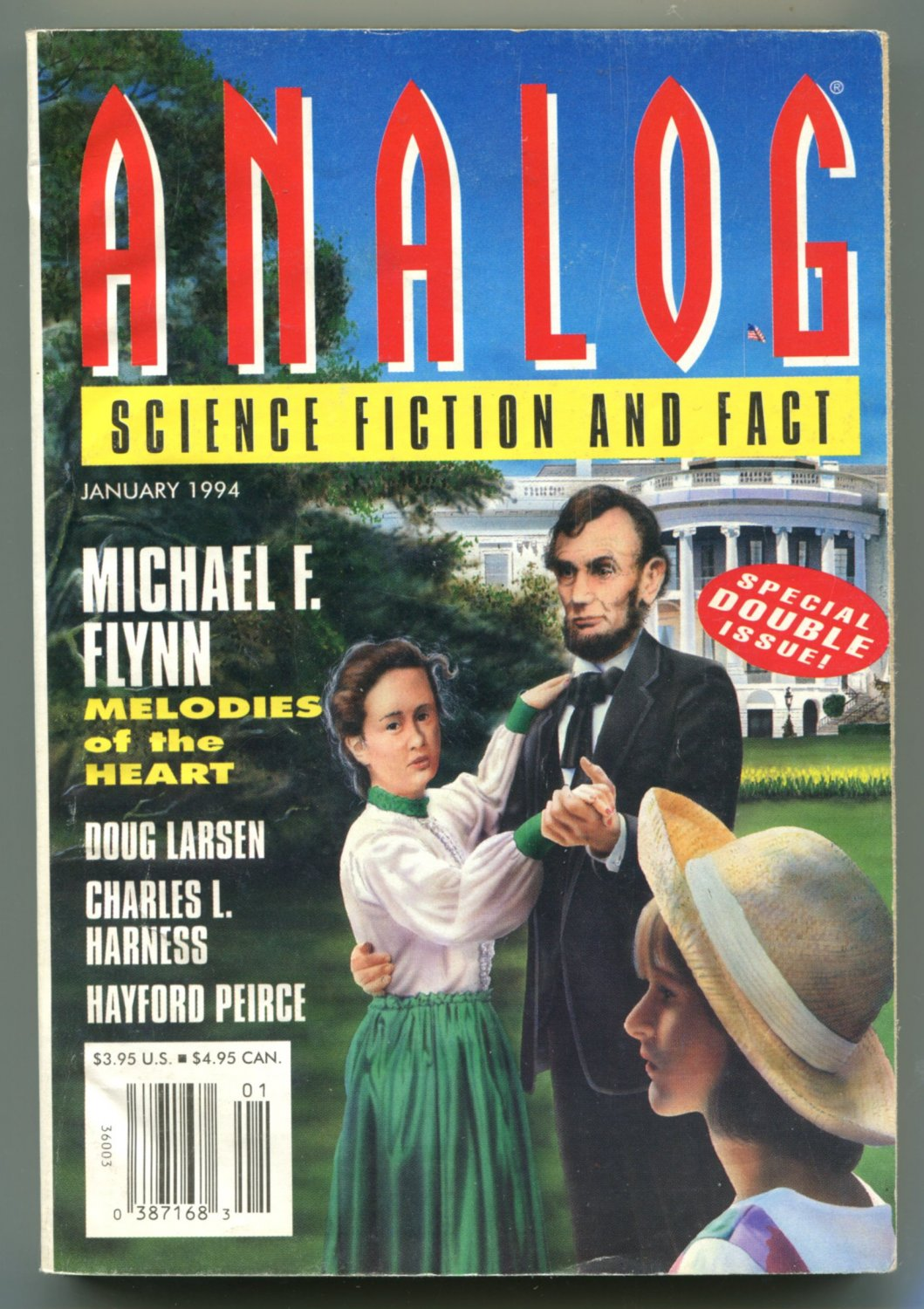 ANALOG Science Fiction Magazine 1994 13 Issue Lot Complete Year