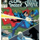 Strange Tales 17 Doctor Strange Cloak and Dagger VF 8.5 Marvel Second Series 1986