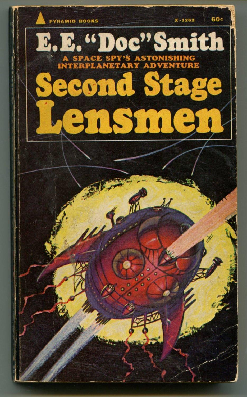 Lensman 5 SECOND STAGE LENSMEN E E Doc Smith First Pyramid Printing X1262