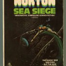 Andre Norton SEA SIEGE First Printing Dean Ellis