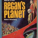 Robert Silverberg REGAN'S PLANET Ed Emshwiller First Printing Pyramid F986