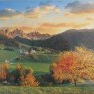 Clemontoni THE ALPS Santa Maddalena The Dolomites 3000 pc Jigsaw Puzzle Landscape New