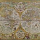 Clemontoni ANCIENT MAP 1594 2000 pc Jigsaw Puzzle New