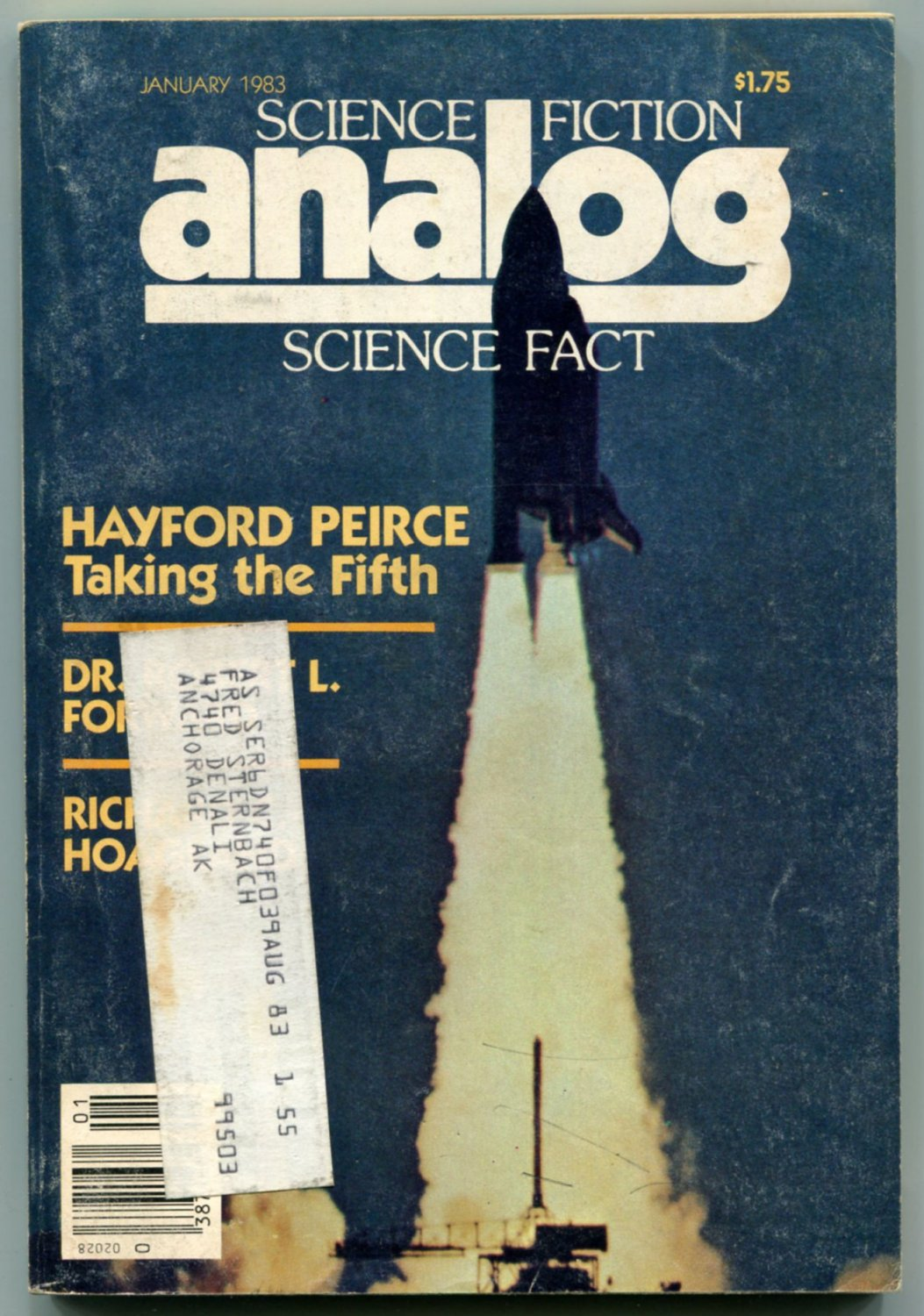 ANALOG Science Fiction Magazine 1983 Complete Year 13 Issue Lot