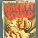 DETECTIVE HIGGINS OF THE RACKET SQUAD Whitman BLB 1484 Poor Condition