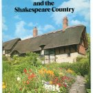 Stratford upon Avon and the Shakespeare Country Travel Guide Brochure Very Good