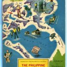 American Geographical Society THE PHILIPPINE ISLANDS 1961 Around the World Program Very Good