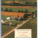American Geographical Society ILLINOIS AND INDIANA 1964 Know Your America Program Very Good