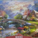 Castorland SPRINGTIME GLORY 1000 pc Jigsaw Puzzle Cottage