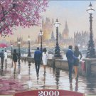 Castorland ALONG THE RIVER 2000 pc Jigsaw Puzzle Neoimpressionism New