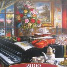 Castorland ENSEMBLE 2000 pc Jigsaw Puzzle Still Life Piano Violin Flowers New