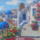 Castorland SPRING IN SANTORINNI 2000 pc Jigsaw Puzzle New