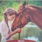 Castorland GREAT FRIENDSHIP 500 pc Jigsaw Puzzle Horse