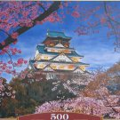 Castorland THE HARMONY OF SPRING 500 pc Jigsaw Puzzle Shinto Temple Cherry Blossoms New