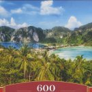 Castorland KO PHI PHI ISLAND THAILAND 600 pc Panorama Jigsaw Puzzle Landscape New