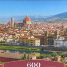 Castorland PANORAMA OF FLORENCE 600 pc Panorama Jigsaw Puzzle Italy New