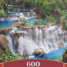 Castorland THE CLEARING 600 pc Panorama Jigsaw Puzzle Forest Landscape Waterfalls New
