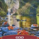 Castorland STEAMY MORNINGS 600 pc Panorama Jigsaw Puzzle Landscape New