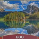 Castorland EMERALD LAKE 600 pc Panorama Jigsaw Puzzle Landscape New