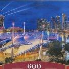 Castorland MARINA BAY SINGAPORE 600 pc Panorama Jigsaw Puzzle New