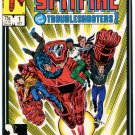 Spitfire and the Troubleshooters 1 NM 9.2 Marvel Comics 1986 Conway Trimpe  New Universe