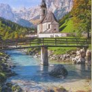 Castorland RAMSAU GERMANY 1500 pc Jigsaw Puzzle Church Bavaria Alps