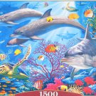 Castorland SECRETS OF THE REEF 1500 pc Jigsaw Puzzle Dolphins Turtles