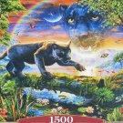 Castorland PANTHER TWILIGHT 1500 pc Jigsaw Puzzle