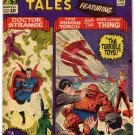 STRANGE TALES 133 FN- 5.5 Marvel Comics Volume 1 1965 Lee Ditko Human Torch Dr Strange The Thing