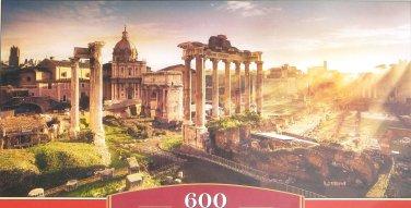 Castorland VIEW OF THE ROMAN FORUM 600 pc Panorama Jigsaw Puzzle
