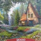 Castorland TOADSTOOL COTTAGE 2000 pc Jigsaw Puzzle Landscape