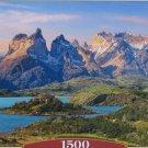 Castorland TORRES DEL PAINE PATAGONIA CHILE 1500 pc Jigsaw Puzzle Landscape