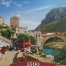 Castorland OLD TOWN OF MOSTAR 1500 pc Jigsaw Puzzle Landscape