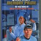 Star Trek 42 MEMORY PRIME Gar and Judith Reeves-Stevens First Printing