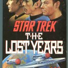Star Trek THE LOST YEARS J M Dillard First Printing